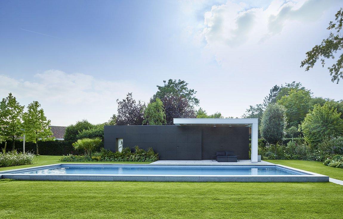 Poolhouse Trespa : Bogarden