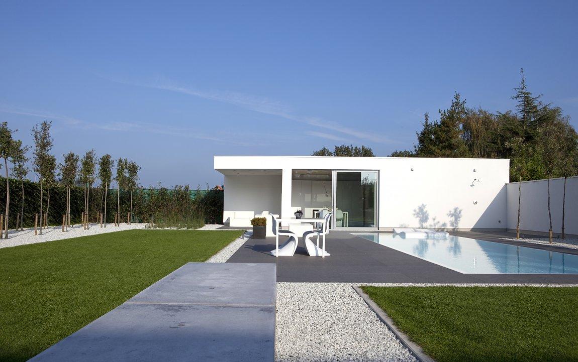 Modern poolhouse : Bogarden