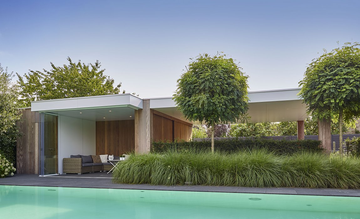 Moderne Carport house with carport carports shelters pioneer shade structures